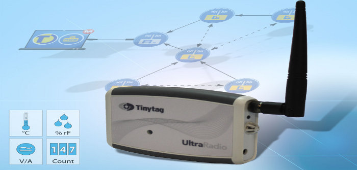 TinyTag Ultra-Radio Datenlogger