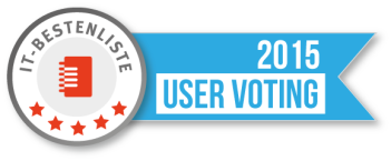 IT-Bestenliste User Voting Logo 2015
