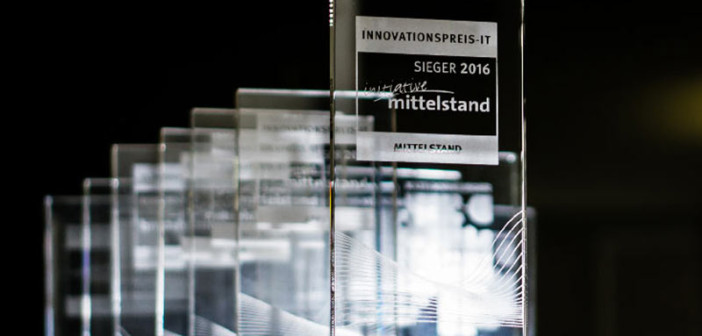 INNOVATIONSPREIS-IT 2016 Pokale Initiative Mittelstand