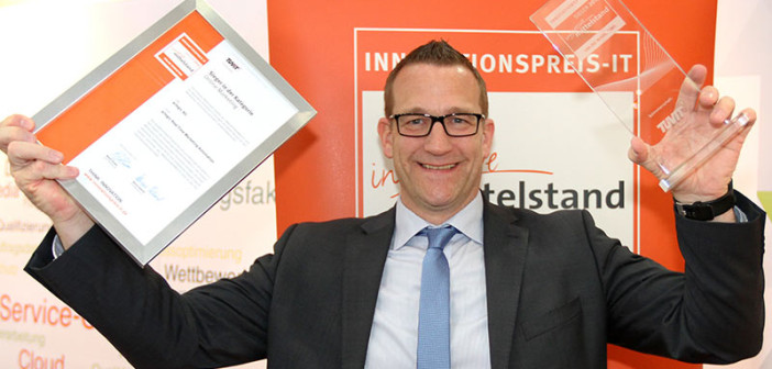 artegic hat den Innovationspreis-IT2016 in der Kategorie Online-Marketing gewonnen